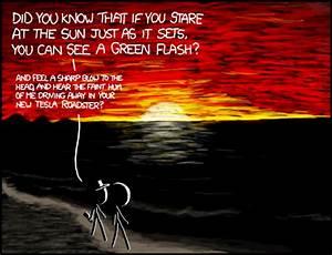 Xkcd  Green Flash