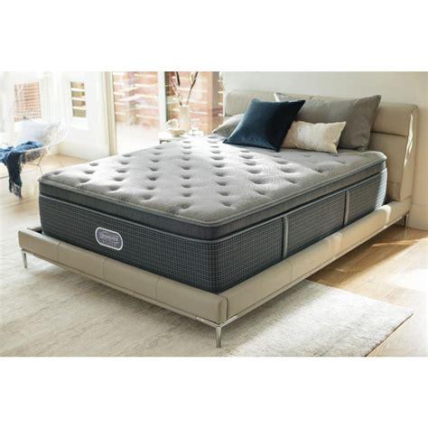 mattress santa barbara beautyrest silver santa barbara cove king plush pillow top