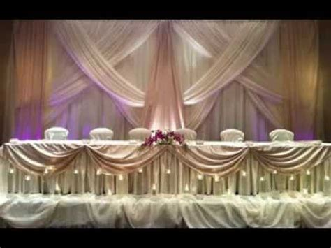 diy wedding party backdrop decorations youtube