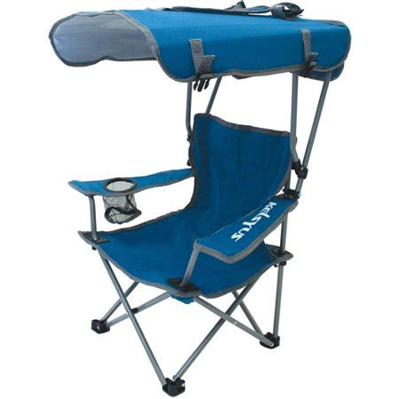 chair with canopy kelsyus canopy chair blue gray walmart