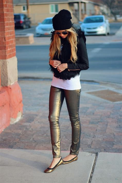Outfit Ideas Sparkling And Metallic Shoes 2018 | FashionTasty.com
