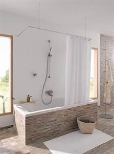 Duschvorhangstange Badewanne L Form : die besten 25 duschvorhangstange ideen auf pinterest ikea duschvorhang ikea frankfurt und ~ Orissabook.com Haus und Dekorationen