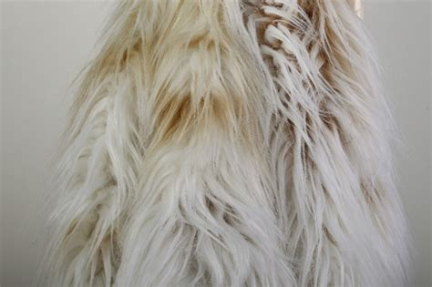 Faux Fur Fake Fabric Tibet Long Hair White&camel Color 4 Inch Pile Sturbridge Curtains Park Designs How To Make Miniature Dollhouse Shower Curtain Rod Up No Liner Simple Pictures Willow Thermal Insulated Blackout Panels Philippines And Blinds Box Pleat Tutorial