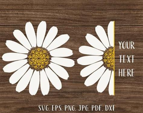 daisy mandala svg    daisy svg white flower svg daisy monogram svg daisy png floral