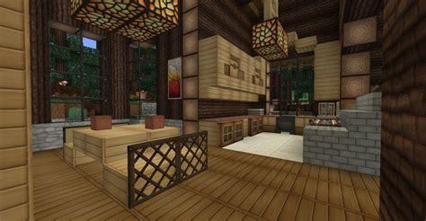 minecraft survival log cabin interior dining room kitchen minecraft cabin minecraft house