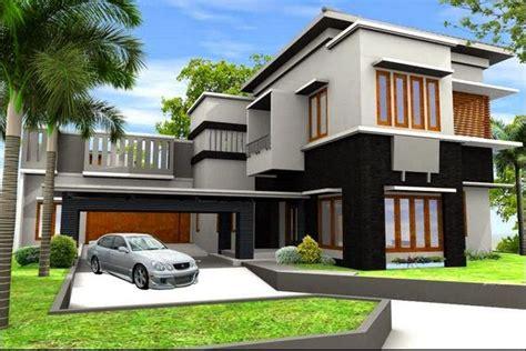 model rumah modern cantik  mewah desain rumah minimalis