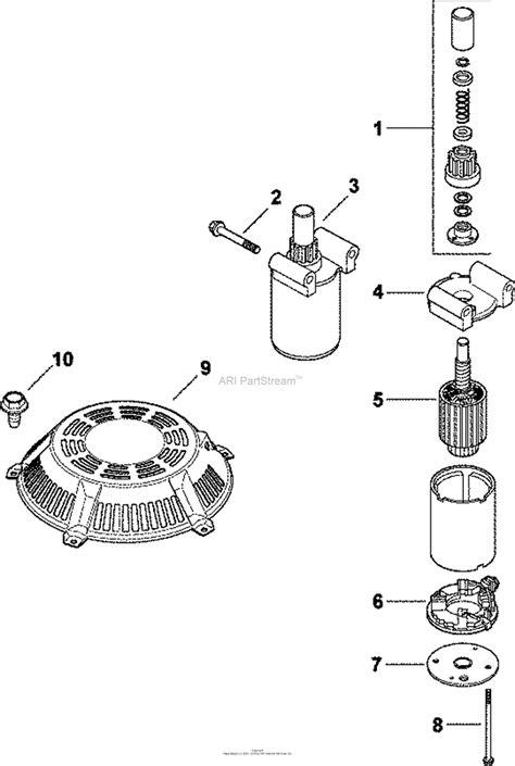 kohler cv  ransomes  hp  kw parts diagram