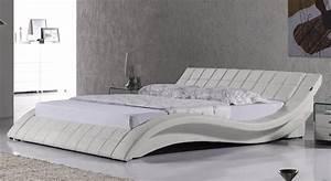 King Size Bett Amerikanisch : doppelbett lederbett bettgestell polsterbett raul 200x220 designer bett r0w neu ebay ~ Markanthonyermac.com Haus und Dekorationen