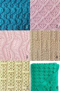 6 different stitches knit stitch patterns knitting