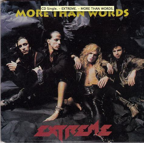 Extreme (2)  More Than Words At Discogs