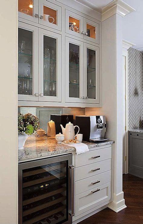 kitchen cabinet display ideas terracotta properties kitchens coffee station coffee 5256