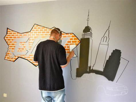 graff chambre décoration graff intérieur déco extérieur déco chambre d
