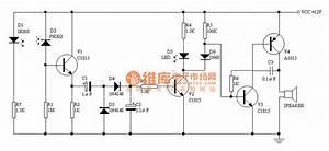 Cpu Fan Stopping Alarm Circuit Diagram