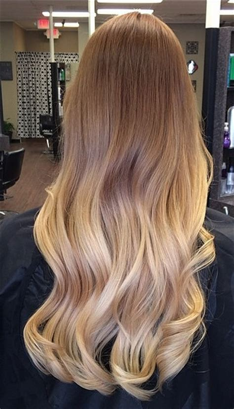 perfectly blended blonde highlights mane interest