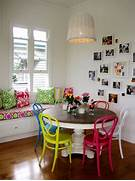 Modern Black House Bright Accents Multi Colored Dining Chairs A Playful Touch For The D Cor