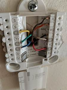 Citique My Thermostat Wiring   Honeywell Rth6360