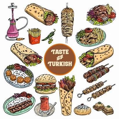 Middle Eastern Vector Clip Turkish Illustrations Illustration