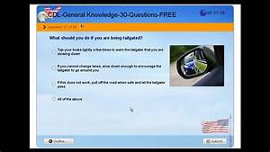 Cdl General Knowledge