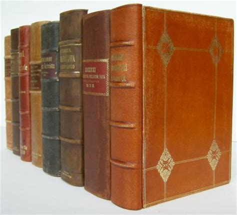 Faux Books For Decoration by Handbinding Faux False Books Leather Replica Antique