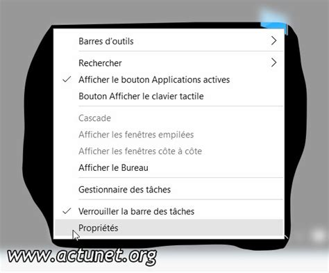 performance du bureau pour windows aero propriétés
