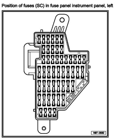 2006 Vw Passat Fuse Box Diagram by I Just Bought A 2006 Passat 3 6l The Fuse Diagram In The