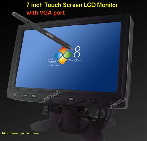 tft lcd tv  touch button usbsd car mp player