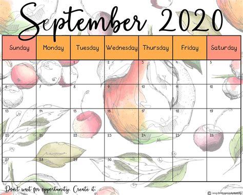 printable calendar   beautiful floral designs