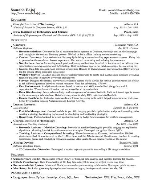packages latex template  resumecurriculum vitae