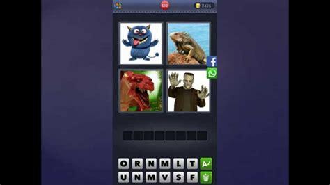 4 Bilder 1 Wort Lösung [monster, Leguan, Dinosaurier