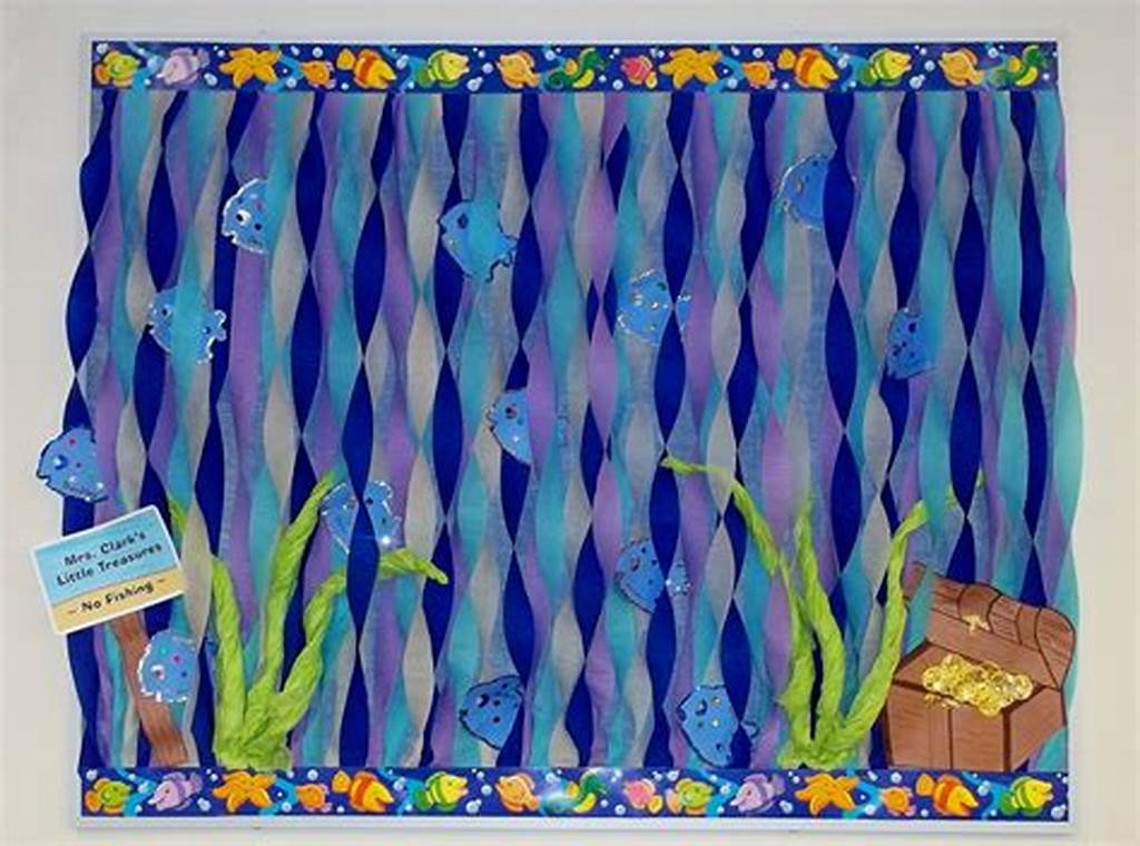 #Ocean #Fish #Water #Treasure #Bulletin #Board