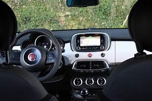 Fiat 500 Interieur : avis essai on a test le fiat 500x ~ Gottalentnigeria.com Avis de Voitures