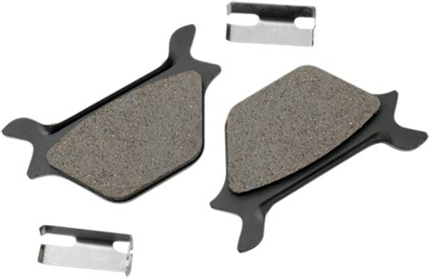 Drag Specialties Semi Metallic Rear Brake Pads 87-99