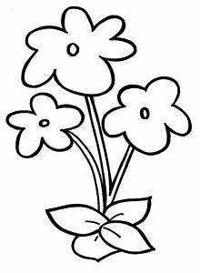 Easy Drawings For Children simple flower drawing for kids