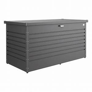 Biohort Freizeitbox 160 : biohort garten aufbewahrungsbox freizeitbox 160 dunkelgrau metallic 0 79 x 1 6 x 0 83 m ~ Orissabook.com Haus und Dekorationen