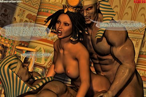 Hot Egyptian Queen In A Threesome With Two Horny Guys