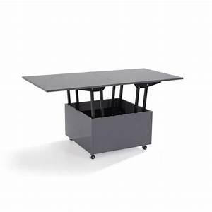 Table Extensible Grise : table basse relevable extensible giani grise achat vente table basse pas cher couleur et ~ Teatrodelosmanantiales.com Idées de Décoration