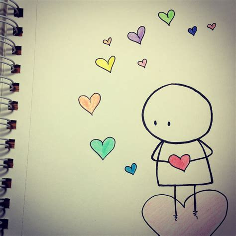 love    heart  drawing   cute