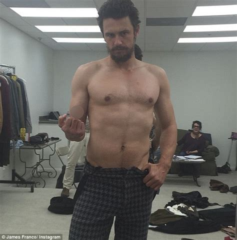 timothy hutton tim allen james franco shirtless as he announces new film project