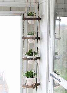 Sellette Pour Plante : porte plantes faire soi m me sellettes et suspensions ~ Premium-room.com Idées de Décoration