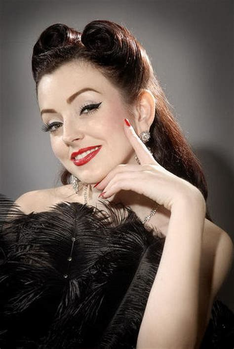 Rockabilly Womens Hairstyles by Rockabilly Hairstyles For