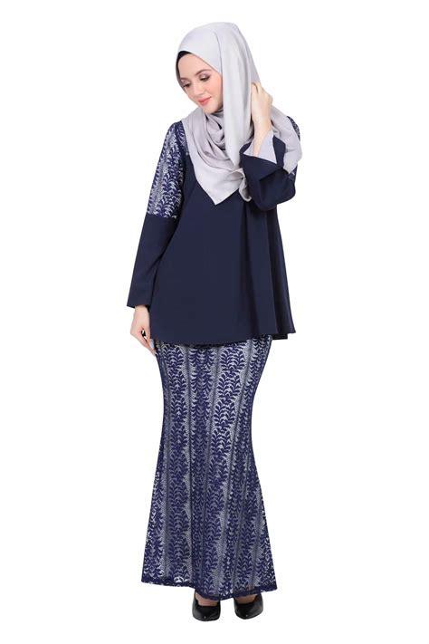 design baju kebaya berhijab  fesyen baju kurung moden