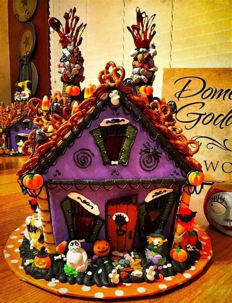 haunted gingerbread house norines nest