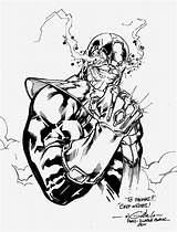 Thanos Gauntlet Infinity Blanc Coloring Drawing Diable Deviantart Signing Spiderguile Pages Sketch Da Favourites Template sketch template