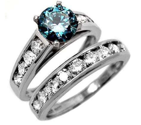 ideas  blue diamond rings  pinterest blue