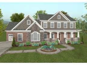 home plans craftsman chancellor craftsman home plan 013d 0173 house plans and more