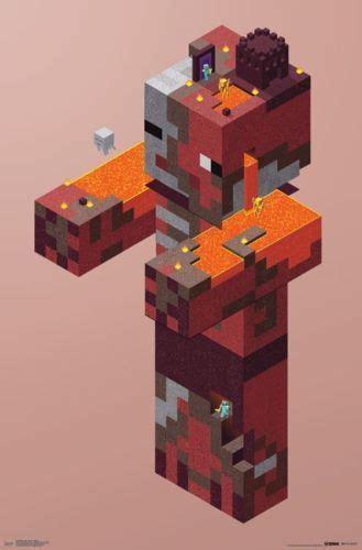 details  minecraft pigman nether poster