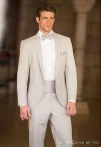 mens tuxedos for weddings slim fit one buttons business groom tuxedos peak lapel beige groomsmen best suits 2014