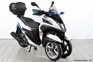 Scooter 3 Roues 125 : un scooter 3 roues yamaha tricity sp cial police moto magazine leader de l actualit ~ Medecine-chirurgie-esthetiques.com Avis de Voitures