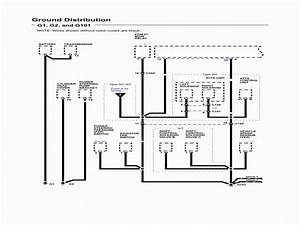 2001 Honda Accord Coupe Wiring Diagrams