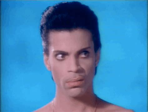 Side Eye Meme - because prince would want us to be petty right now